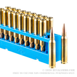 20 Rounds of .223 Ammo by Prvi Partizan - 75gr HPBT Match