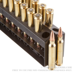 200 Rounds of 5.56x45 Ammo by Barnes VOR-TX - 62gr TSX BT