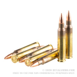 1000 Rounds of 5.56x45 Ammo by Hornady Frontier - 55gr FMJ M193