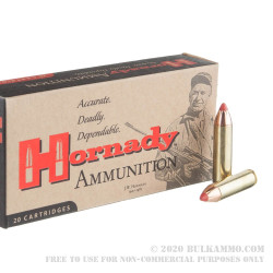 200 Rounds of .450 Bushmaster Ammo by Hornady Custom - 250gr FTX