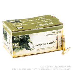600 Rounds of 5.56x45 Ammo by Federal - 62gr FMJ