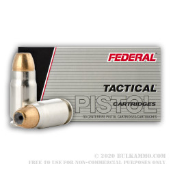 1000 Rounds of .357 SIG Ammo by Federal Tactical LE - 125gr JHP