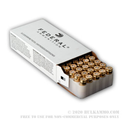 1000 Rounds of 9mm Ammo by Federal - 95gr JSP