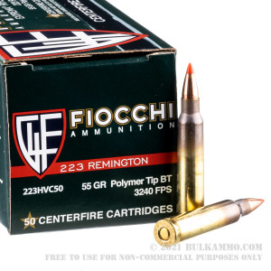 1000 Rounds of .223 Ammo by Fiocchi - 55gr V-MAX review