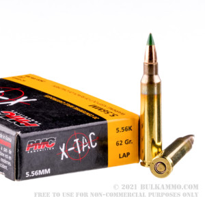1000 Rounds of 5.56x45 Ammo by PMC - 62gr FMJ XM855 review