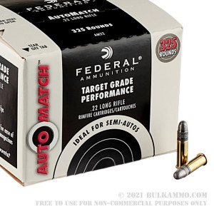 325 Rounds of .22 LR Ammo by Federal Champion AutoMatch Target - 40gr LRN review