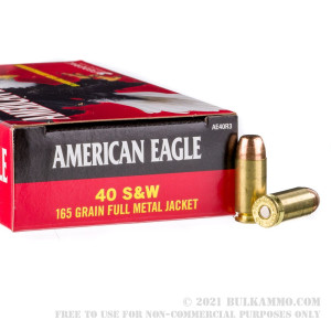 50 Rounds of .40 S&W Ammo by Federal - 165gr FMJ review