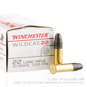 5000 Rounds of .22 LR Ammo by Winchester - 40gr LRN review