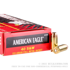 50 Rounds of .40 S&W Ammo by Federal - 155gr FMJ review