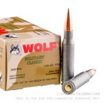 20 Rounds of .308 Win Ammo by Wolf - 145gr FMJ