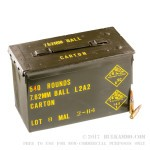 540 Rounds of .308 Win Ammo of Malaysian Military Surplus - 146gr FMJ