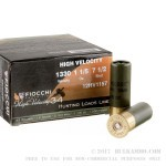 """250 Rounds of 12ga Ammo by Fiocchi High Velocity Hunting - 2-3/4"""" 1 1/5 ounce #7 1/2 shot"""