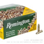 525 Rounds of .22 LR Ammo by Remington - 36gr HP