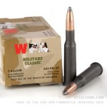 500  Rounds of 7.62x54r Ammo by Wolf Military Classic - 203gr SP