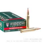20 Rounds of .300 Win Mag Ammo by Fiocchi - 150gr SPBT