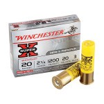 """250 Rounds of 20ga Ammo by Winchester Super-X- 2-3/4"""" #3 Buck"""