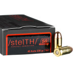 1000 Rounds of .45 ACP Ammo by Ammo Inc. stelTH - 230gr TMJ