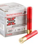 "250 Rounds of .410 3"" Ammo by Winchester -  #6 shot"