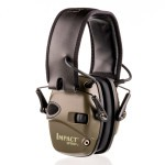 Howard Leight Impact Sport Hunter Green Electronic Earmuffs