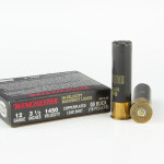 """5 Rounds of 12ga 3-1/2"""" Ammo by Winchester Double-X - 00 Buck"""