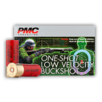 5 Rounds of LV LE 12ga Ammo by PMC -  #4 Buck