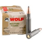 20 Rounds of .308 Win Ammo by Wolf - 168gr SP