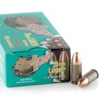 50 Rounds of 9mm Ammo by Brown Bear - 115gr FMJ