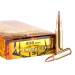 20 Rounds of .308 Win Ammo by Federal - 180gr Fusion