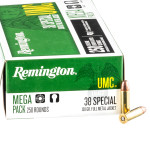 1000 Rounds of .38 Spl Ammo by Remington - 130gr MC