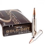 20 Rounds of .223 Ammo by Speer Gold Dot - 55gr SP