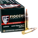 1000 Rounds of .223 Ammo by Fiocchi - 55gr V-MAX