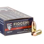 1000 Rounds of .380 ACP Ammo by Fiocchi - 90gr JHP