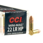 5000 Rounds of .22 LR Mini-Mag Ammo by CCI - 36gr CPHP