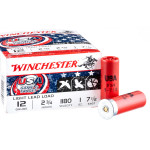 250 Rounds of 12ga Ammo by Winchester USA Game & Target - 1 ounce #7.5 shot