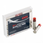 10 Rounds of .38 Special Ammo by CCI - 81 Grain #4 shot