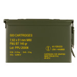 500 Rounds of 7.62x51 Ammo by Prvi Partizan in Ammo Can - 145gr FMJBT