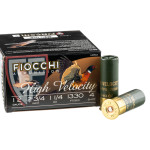 250 Rounds of 12ga Ammo by Fiocchi - 1 1/4 ounce #4 shot