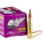 20 Rounds of 7.62x39mm Ammo by Golden Bear - 125gr SP
