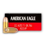 50 Rounds of .32 ACP Ammo by Federal American Eagle - 71gr FMJ
