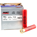 25 Rounds of .410 Ammo by PMC High Velocity Hunting Load - 1/2 ounce #7.5 Shot