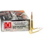 20 Rounds of .224 Valkyrie Ammo by Hornady Varmint Express - 60gr GMX