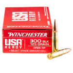 20 Rounds of .300 AAC Blackout Ammo by Winchester USA Ready - 125gr OT