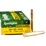 200 Rounds of 30-30 Win Ammo by Remington - 170gr SP