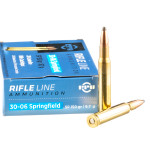 200 Rounds of 30-06 Springfield Ammo by Prvi Partizan - 150gr SP
