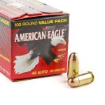 100 Rounds of .45 ACP Ammo by Federal - 230gr FMJ