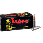 1000 Rounds of 7.62x39mm Ammo by Tula - 124gr SP **POSSIBLE RUST SPOTS**