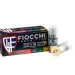 250 Rounds of 12ga Ammo by Fiocchi - 1 ounce Low Recoil Rifled Slug