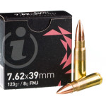 720 Rounds of 7.62x39 Ammo by Igman - 123gr FMJ