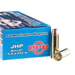 50 Rounds of .44 Mag Ammo by Prvi Partizan - 240gr JHP