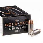 20 Rounds of .40 S&W Ammo by Speer Gold Dot - 180gr JHP